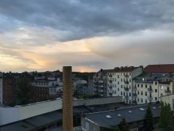 After the rain the sun