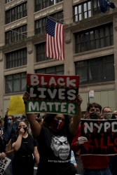 Marching Against Police Brutality